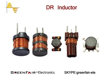 Reliable Axial Leaded Radial Inductor , 2 Winding Low Resistance Drum Coil Inductor